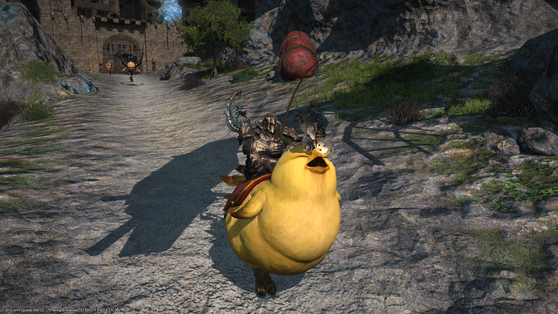 how to call chocobo ffxiv